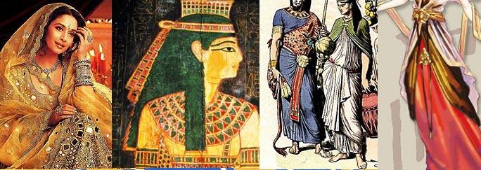 古埃及服饰图案